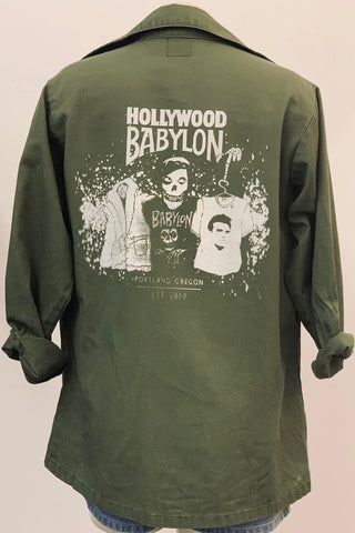 Vintage Army Shirt Screened by Babylon M/L