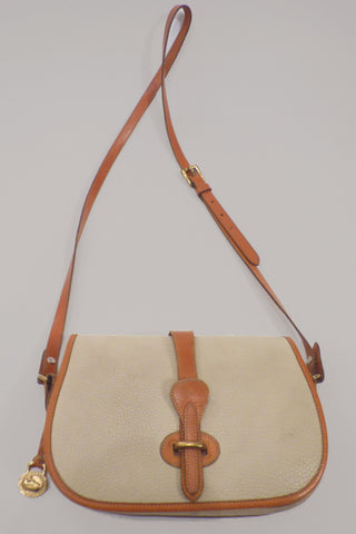 Vintage Dooney & Bourke Saddle Bag
