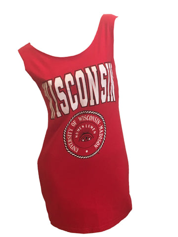 WISCONSIN University Madison Reshaped T-shirt/ Dress