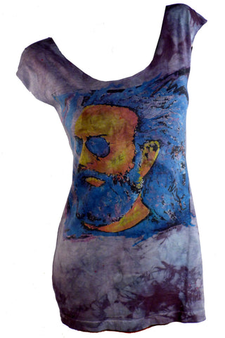 JERRY GARCIA Reshaped 2 Sided T-Shirt / Dress