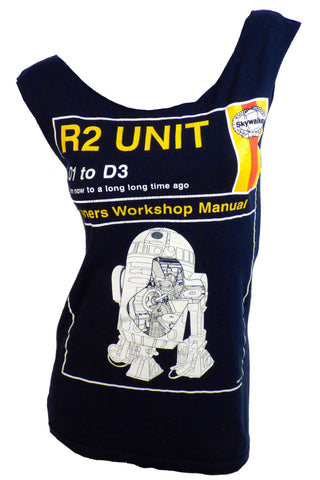 Vintage R2D2 tshirt dress
