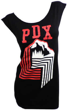 Portland Trailblazers PDX Reshaped T-Shirt / Dress