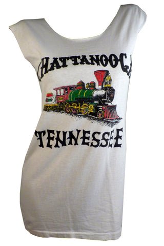 Chattanooga CHOO CHOO Tennessee Reshaped T-Shirt / Dress