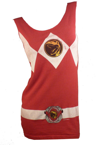 Mighty Morphin Power Rangers Reshaped T-Shirt / Mini Dress