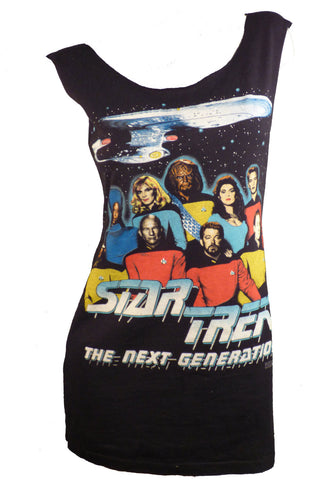 STAR TREK The Next Generation Reshaped T-Shirt / Mini Dress