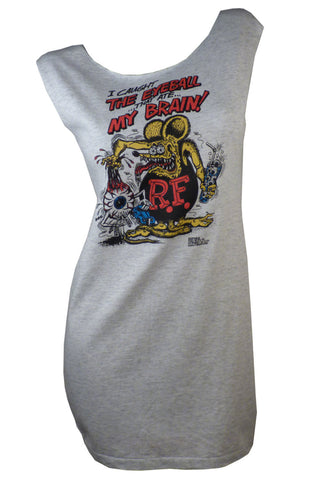Vintage RAT FINK Hot Rod T-Shirt / Tunic / Dress