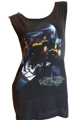 STAR TREK Voyager Reshaped T-Shirt / Mini Dress