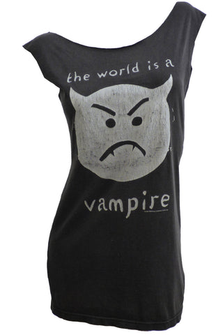 1990s SMASHING PUMPKINS 'The World is a Vampire' Infinite Sadness Tour Reshaped T-Shirt / Dress