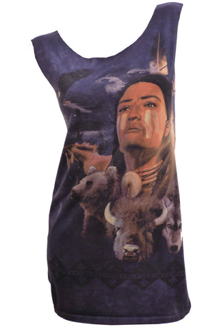 Native American Animal Spirit Chief T-Shirt / Tunic / Dress