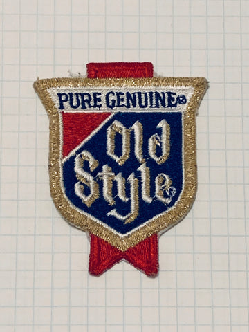 Vintage OLD STYLE patch