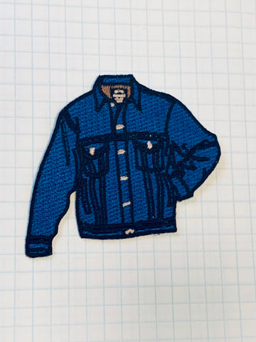 limited edition DENIM JACKET patch