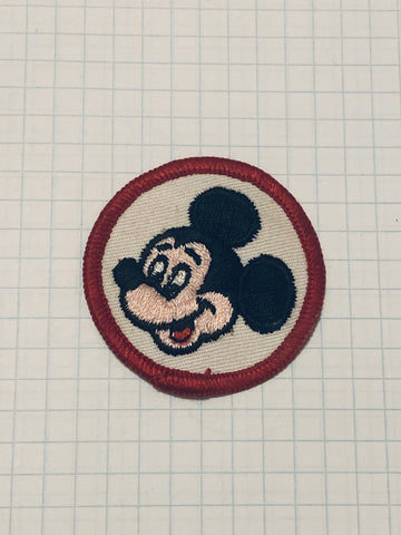 Vintage Mickey Mouse patch