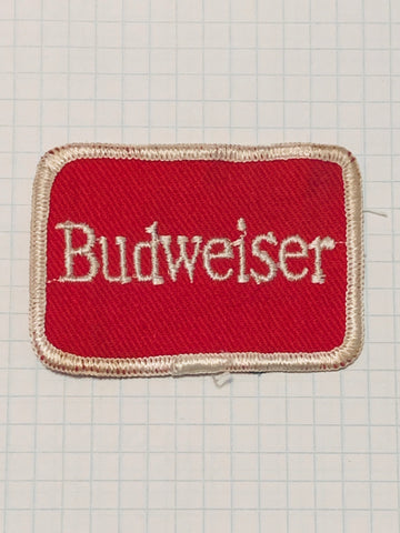Vintage BUDWEISER patch