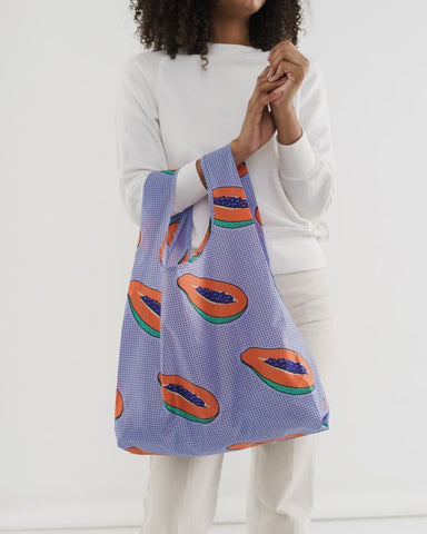 Baggu Standard Reusable Bag - Blue Papaya