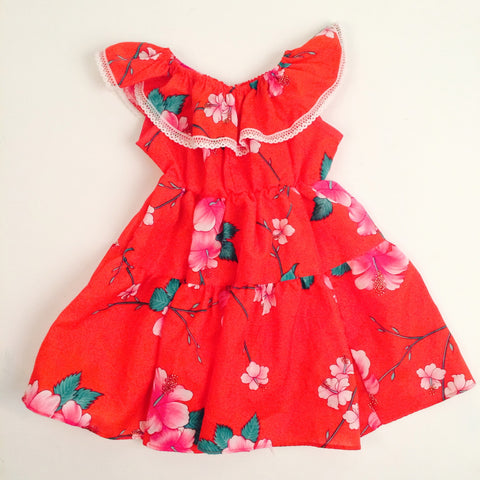 Vintage Kid's Hawaiian Dress