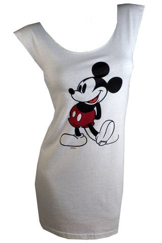 Vintage MICKEY MOUSE Reshaped T-Shirt Dress sz. S/M