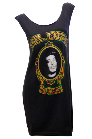 Vintage DR. DRE THE CHRONIC Reshaped  hip hop T-Shirt / Dress