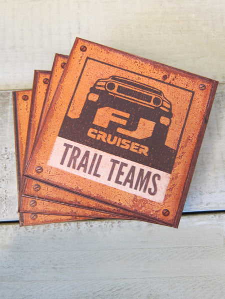 FJ Cruiser Trail Teams Coaster Set