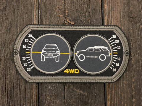 4Runner Inclinometer Patch Set