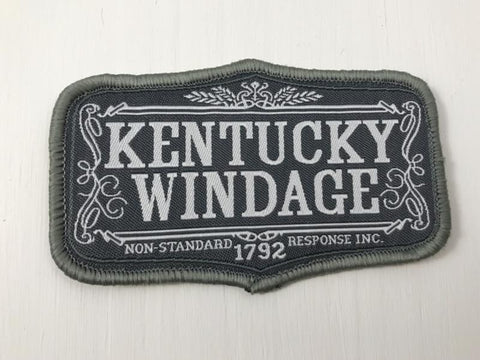 KENTUCKY WINDAGE Patch