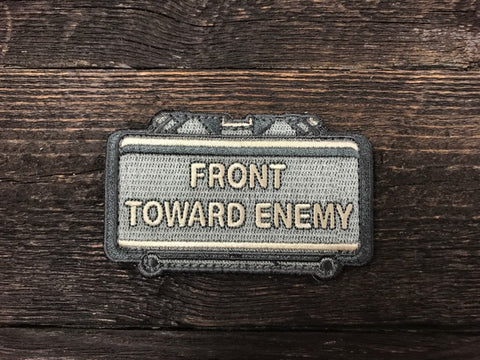 Front Towards Enemy patch