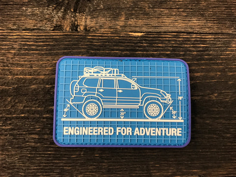 Engineered for Adventure Series: Lexus GX Patch