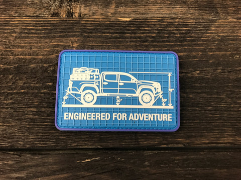 Engineered for Adventure Series: 3rd Gen Tacoma Patch