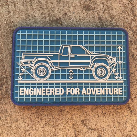 Engineered for Adventure Series: '94 Toyota Pickup Patch