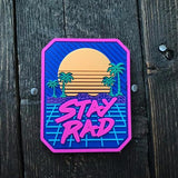Stay Rad PVC patch