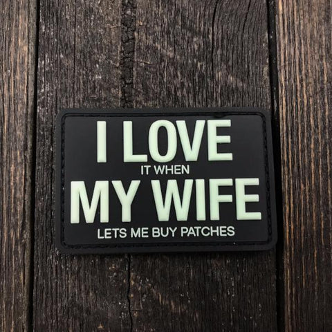 I Love my Wife - Patches