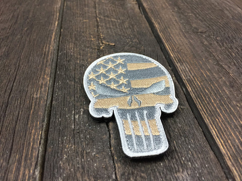 PUNISHER FLAG Patch