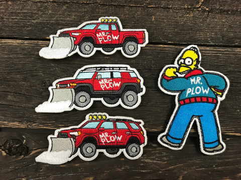 Mr. Plow Patch Series