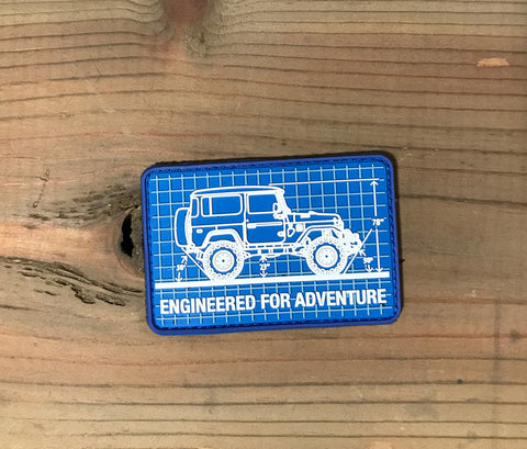 Engineered for Adventure - FJ40 PVC Patch