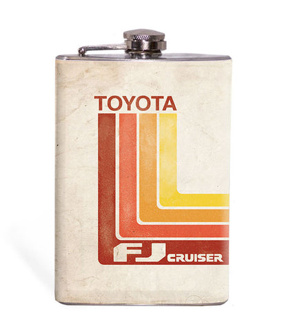 Retro Toyota - FJC - 8oz Flask