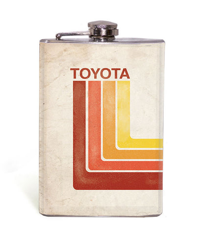 Retro Toyota - 8oz Flask