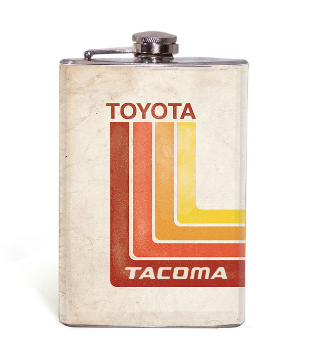 Retro Toyota - Tacoma - 8oz Flask