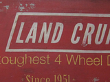 Toyota Land Cruiser Since 1951 Sign