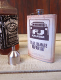 FJ Trail Damage Repair Kit 8oz Flask
