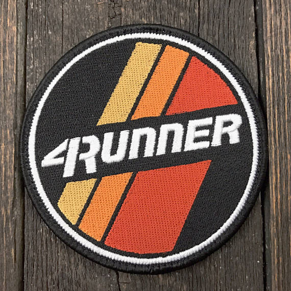 4runner Retro Stripes Patch