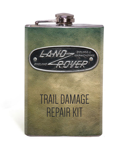 Land Rover Trail Damage Repair Kit 8oz Flask