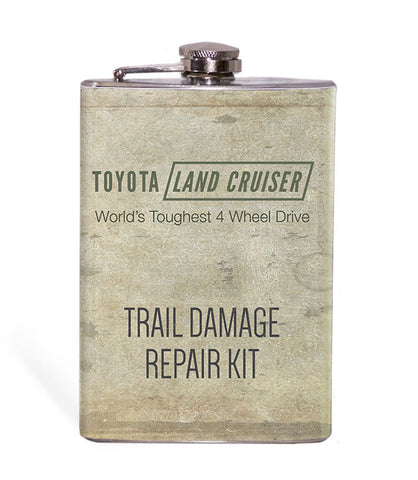 Land Cruiser Trail Damage Repair Kit 8oz Flask
