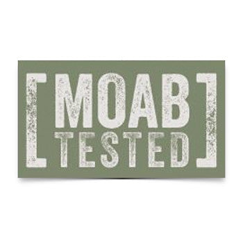 Moab Tested Sticker