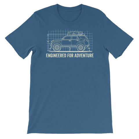 Engineered for Adventure: Toyota 4Runner Short-Sleeve Unisex T-Shirt