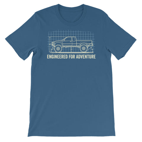 Engineered for Adventure: '94 Toyota Pickup Short-Sleeve Unisex T-Shirt