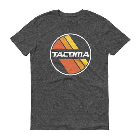 Retro Stripe Tacoma Short-Sleeve T-Shirt