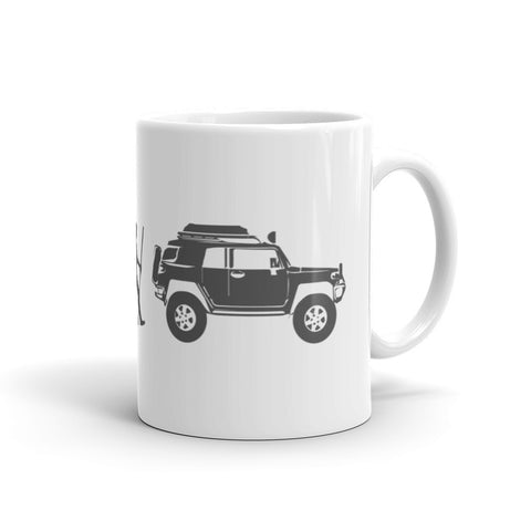 Evolution: FJ Cruiser Mug