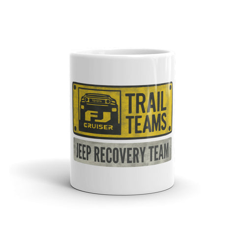 FJ Cruiser Jeep Recovery Team Mug