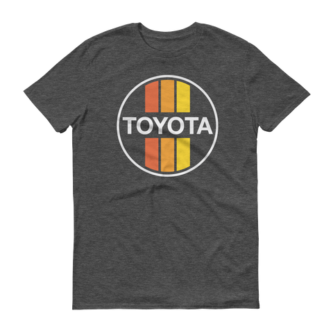 Retro Toyota Stripes short sleeve t-shirt