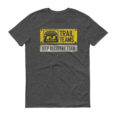 FJ Cruiser Trail Team: Jeep Recovery Team short sleeve t-shirt