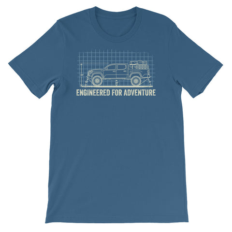 Engineered for Adventure: 3rd Gen Tacoma Short-Sleeve Unisex T-Shirt